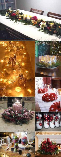 arranjo Christmas Is Coming, Christmas Home, Christmas Holidays, Christmas Crafts, Xmas, Christmas Ornaments, Christmas Stuff, Christmas Centerpieces, Christmas Decorations