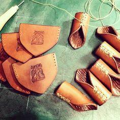 今日はここまで!バンダナホルダー^_^ ^_^#バンダナホルダー #革細工#leathercraft #インダストリアル #sergeabsorber#leathergoods