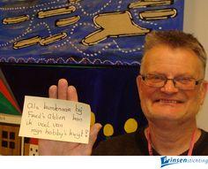 Kunstenaar Rob is helemaal op zijn plaats bij Fred's Atelier :-) Wat versta jij onder 'Nederland Onbeperkt'? Ondersteun hiermee de landelijke campagne 'Nederland Onbeperkt' waarin de komende 1,5 jaar mensen met een beperking extra zichtbaar worden in de samenleving. Meer info: http://www.nederlandonbeperkt.nu/ en op facebook via: https://www.facebook.com/NederlandOnbeperkt?fref=ts