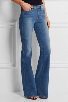 Frame Denim: Le Forever Karlie Flare high-rise jeans