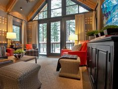 HGTV Dream Home 2014 : Family Room Pictures