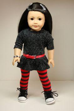 Tunic/Dress  & Leggings by sewurbandesigns via Etsy   $20.00