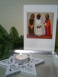 Driekoningen met geschenken www.geloventhuis.nl