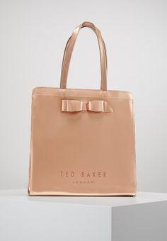 4a54adc82cd44 Ted Baker ALMACON BOW DETAIL LARGE ICON BAG - Tote bag - rosegold - Zalando.
