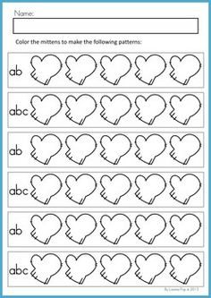 printable worksheet have the children fill in the missing numbers winter ideas pinterest. Black Bedroom Furniture Sets. Home Design Ideas