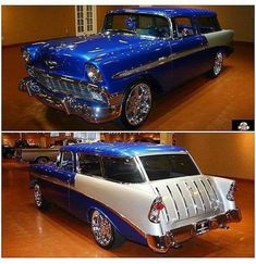 Muscle Cars Trucks and Motorcycles Garage – Classic Cars Old Classic Cars, Classic Trucks, Station Wagon Cars, Automobile, Chevy Nomad, Auto Retro, Old School Cars, Motorcycle Garage, Sweet Cars
