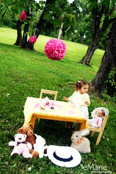 tea party photo session- by eMarie Photography