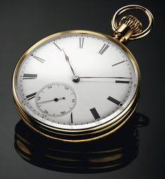 1862. Orologio da tasca senza chiave di carica