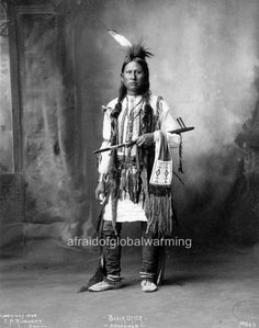 Photo. 1890s. Black Otter - Native American Arapahoe Indian
