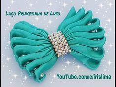 Laço de Gorgurão   Boutique Com Laço Embutido  Grande  DIY  PAP  TUTORIAL  Iris Lima - YouTube