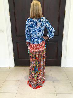 Rococo Sand Victorian Long Dress - SWANK - Dresses - back