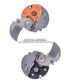 Serge Custom Knives Coin Claw TAD Edition