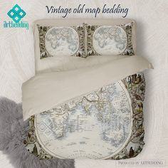 North and south america vintage map bedding america old map duvet north and south america vintage map bedding america old map duvet cover set antique america map comforter set antique maps bedding sets and duvet gumiabroncs Image collections