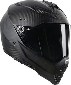 AGV AX-8 Evolution Carbon Fiber Dual Sport Naked Full Face Motorcycle Helmet in eBay Motors, Parts & Accessories, Apparel & Merchandise | eBay