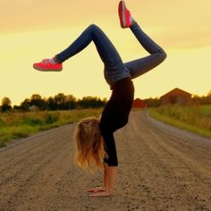 yoga handstand - list of fun and cheap exercise ideas