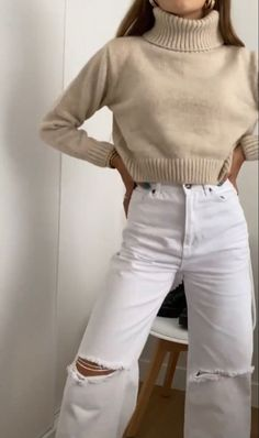 Looks Style, Looks Cool, Fall Winter Outfits, Autumn Winter Fashion, Mode Outfits, Fashion Outfits, Fashion Tips, Mode Ootd, Winter Fits