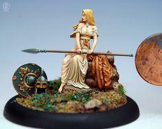 Kreimhild's Revenge - Three tones to the hair