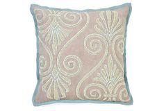 Maison 18x18 Pillow, Taupe on OneKingsLane.com