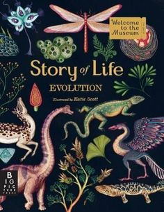 Story of Life: Evolution (Welcome to the Museum) by Katie Scott http://www.amazon.co.uk/dp/1783704446/ref=cm_sw_r_pi_dp_RR9awb05GNXS3