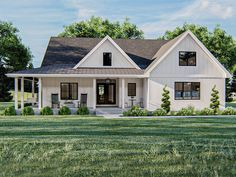 050H-0327: Country Ranch House Plan; 2076 sf