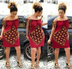 african dress styles This beautiful dress is handmade with love to fit buyer's exact measurements. * It is fully lined with zipper closure at the back. It takes business days t African Party Dresses, Short African Dresses, African Print Dresses, Short Gowns, African Prints, African Fashion Ankara, Latest African Fashion Dresses, African Print Fashion, Nigerian Fashion