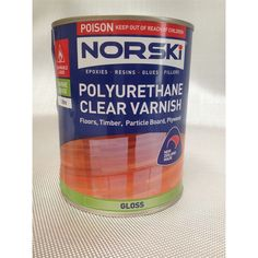 Norski Polyurethane Varnish 1L Gloss
