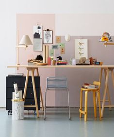 Workspace By stylist Filippa Egnell and photographer Magnus Anesund for Swedish ELLE Interiör.