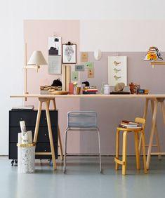 Workspace By stylist Filippa Egnell and photographer Magnus Anesund for Swedish ELLE Interiör.