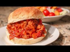 A wonderful twist on a traditional dish, Turkey Apple Sloppy Joes! This recipe is quick, easy and wonderfully delish! Try it out today! Quick Weeknight Meals, Quick Easy Meals, Turkey Sloppy Joes, Homemade Sloppy Joes, Fire Roasted Tomatoes, Crisp Recipe, Turkey Recipes, Venison Recipes, Chicken Recipes