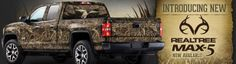 JUST IN TIME FOR CHRISTMAS! The all new Realtree MAX 5 HD camo kits are out and available at www.CamoMyRide.com #MAX5 #REALTREE #CAMOMYRIDE