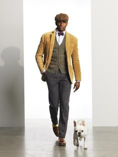 loves..clothes, and daat dog!