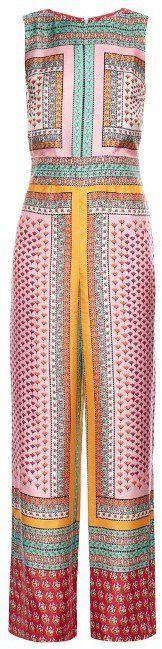 """Pin for Later: Jumpsuits aus Seide sind nicht nur super praktisch, sondern auch bequem und stylisch  Diane von Furstenberg """"Jalessa"""" bedruckter Jumpsuit aus Seide (ursprünglich 693 €, jetzt 485 €)"""