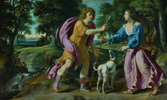 'Cephalus and Procris' is a keywork of Philippe de Champaigne (Brussels, 1602 - Paris, 1674) of circa 1630. It reflects the artist's Parisian beginnings and his pictorial evolution. The painting comes from the collection of AXA Art at Hotel de La Vaupalière, It will be part of the exhibition 'Three Collections, a Single Passion' at Paris Tableau 2014.