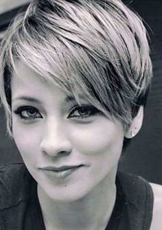 2016's Most Popular Pixie Cut with Bangs…