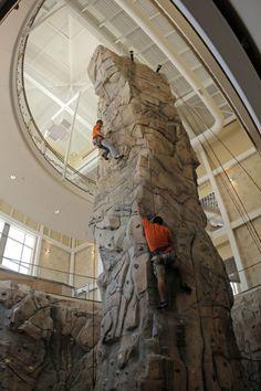 Design build manufacture rock climbing, bouldering walls indoor outdoor - University of Texas El Paso Indoor Rock Climbing Tower - Rock Climbing Training, Rock Climbing Gym, Climbing Holds, Home Climbing Wall, Indoor Climbing Wall, Rock Climbing For Beginners, Halle, Bouldering Wall, Jacuzzi
