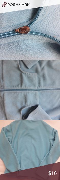 "Jane Ashley Casual Lifestyle Women's Zip-Up Fleece Jane Ashley Casual Lifestyle Women's Zip-Up Fleece Jacket Size XL Sky Blue Zipper still works, but is missing the ""handle"" to it. Jane Ashley Jackets & Coats Utility Jackets"