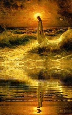 Images Du Christ, Pictures Of Jesus Christ, Bible Pictures, Jesus Wallpaper, Christian Images, Christian Art, Image Jesus, Jesus Painting, Images Gif