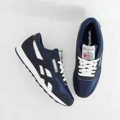 Had these in navy and black. Wore them all throughout high school. Reebok  Classic 497d3a248dfa