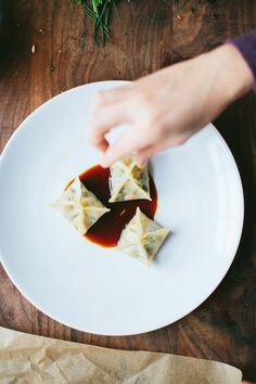 Happyolks | Shiitake Bok Choy Dumplings