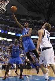 Dirk Nowitzki shines in defeat. Oklahoma City Thunder drills Dallas Mavericks 103-97 THUNDER UP!!!!!!1