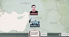 The entire Syrian war explained in one five-minute video Arab Spring, Peaceful Protest, Rebel, War