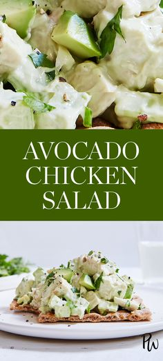 Avocado Chicken Salad. #avocadochickensalad #chickensalad #chicken