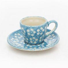 Espresso Cup & saucer, turquoise - https://www.fruugo.co.uk/espressotasse-amp-unterteller-2-w-bunzlau-turkis-bsn-j928/p-4438951