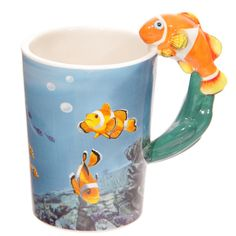 Cute Sealife Design Clown Fish Shaped Handle by getgiftideas