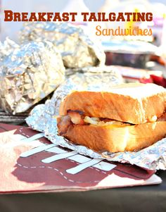 Tailgating Breakfast Sandwiches