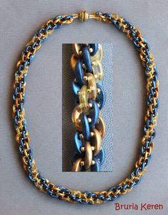 Rope Jewelry, Diy Jewelry, Beaded Jewelry, Jewelery, Beaded Necklace, Jewelry Design, Jewelry Making, Beaded Bracelets, Necklaces