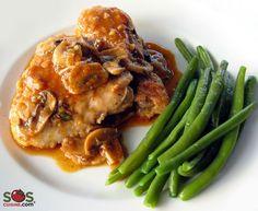 Recette - Poulet Marengo | SOS Cuisine