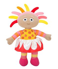 With her colourful hair and outfit, little In The Night Garden fans will love to hear this soft, huggable Upsy Daisy talk.