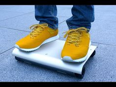 WalkCar – Electric Mini Segway For The Lazy [Video] - Remember the MonoRover? That's so yesterday! Take a look at the WalkCar and marvel over how this little gadget could revolutionize transportation.