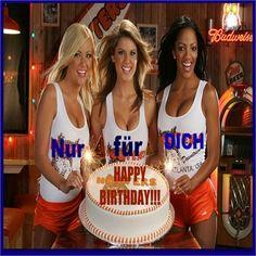 Happy Birthday Babe, Happy Birthday Celebration, Happy Birthday Images, Happy Birthday Greetings, Man Birthday, Happy B Day, Happy Mothers Day, Beer Girl, Sexy